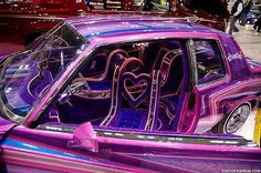 G body lowrider plush interior.