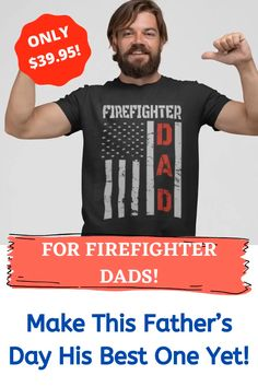 He will know how much you care with this papa's day gift! ~ fathers birthday, dad day, fathers day gifts ideas, fathers day idea, gifts, dad day ideas, fathers crafts, fathers day inspiration, dads day gifts, ideas for fathers day, Father, father gifts, firefighter love quotes, firefighter wife, Firemen,