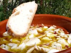 RECIPE FROM SPAIN: Chili Garlic Bacalao