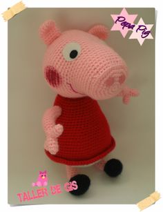 Peppa Pig Amigurumi Taller De Mao : amigurumis con yokita: princesa peach de mario bross ...