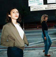 AA classics + new styles, shot In Downtown LA. #AmericanApparel #AAINDENIM