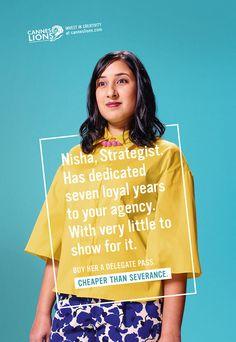 Nisha, Strategics VP Marketing | Canns Lions 2015 | McCann London