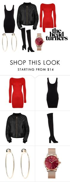 """""""Head turner"""" by kforkeeps on Polyvore featuring WearAll, Boohoo, Dolce&Gabbana, Bebe and Thomas Sabo"""
