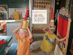 A Kinders Garten Vintage Homeschool: 20 Interactive Ten Apples Up on Top Merriment's & FREEBIES!