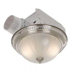 Broan Decorative Ceiling Bath Fan With Light 70 Cfm