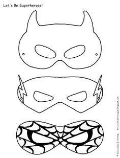 Superhero Masks To Decorate Custom Superhero02  Super Hero Masks Masking And Hero Review