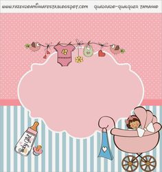 Baby Girl Free Printable Candy Bar Labels.
