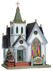 St. Nicholas Church - Lemax Caddington Village