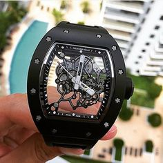 Richard Mille RM055 Black Editition | By @wpmiami | #WatchLuxus