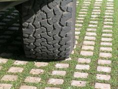 Permeable Pavers Drivable Grass® Image Gallery – Parking