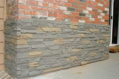 Add value and style to your home or building with faux stone panels from Mi Casa Stone #stones