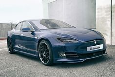 Unplugged Performance is now offering a retrofit front fascia for the pre-facelift Tesla Model S to owners that want the car's grill-less look.