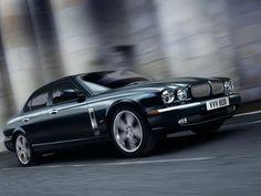 Jaguar XJR Portfolio (2007) - Front Side Angle