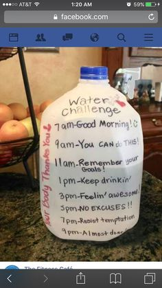 health and fitness healthy food weight loss gym workout Water challenge. If you are trying to lose weight, drink lots of water. It also speeds up your metabolism rate! Quick Weight Loss Tips, Losing Weight Tips, Best Weight Loss, Motivation Regime, Weight Loss Motivation, Daily Motivation, Health Motivation, Fitness Workouts, Fitness Weightloss