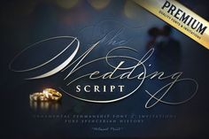 Ad: The Wedding Script & Invitation set by Blessed Print on To be like a pro spencerian calligrapher now is easier with The WEDDING Script. Just scroll down and try to type a number after any letter. Wedding Script, Diy Wedding, Formal Wedding, Wedding Ideas, Script Words, Design Typography, Photoshop, Character Map, Branding