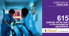 Parkland Hospital's emergency department provides Level 1 trauma and emergency care 24 hours a day, seven days a week. With your support, we can continue to be ready for whoever comes through our doors. Learn more: www.IStandforParkland.org/ER