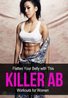 flatten your belly with this killer AB workouts for women Killer Ab Workouts, Gym Workouts Women, Killer Abs, Best Ab Workout, Abs Workout Routines, Abs Workout For Women, Pilates Workout, Fat Workout, Workout Motivation
