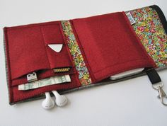 Nerd Herder gadget wallet in Botany for iPhone Droid by rockitbot, $32.00