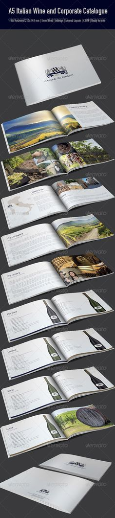 A5 Italian Wine and Corporate Catalogue - Catalogs Brochures