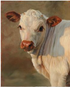 Painting Artist TERESA ELLIOTT. You will never look at a cow the same way again.