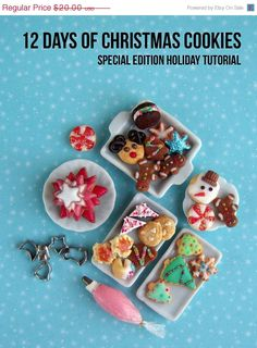 30% OFF Cyber Monday Sale Polymer Clay Tutorial  par mousemarket