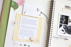 """""""Letters to Daughter"""" Smashbook 