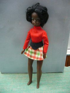 Vintage Black Estrela Susi Teenage Doll & Original Dress Like Sindy Made Brazil   eBay