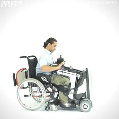 The Matia Robotics Mobilization Device allows paraplegics and people with walking disabilities to stand, sit, and move around with complete freedom. Cool Technology, Technology Gadgets, School Bus House, Clever Inventions, Handicap Bathroom, Wheelchair Accessories, Mobility Aids, Cool Gadgets To Buy, Bones And Muscles