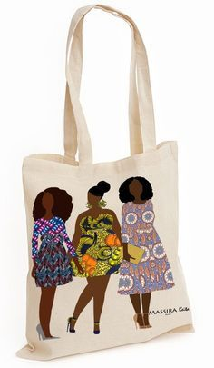 Tote bag via Massira Keita. Click on the image to see more!