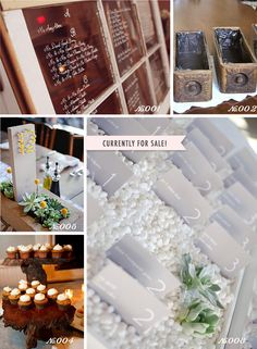 Lots of readymade, DIY goodies for sale in Recycle Your Wedding this week!