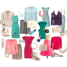 Light Summer Dressy, created by thaliathemuse on Polyvore