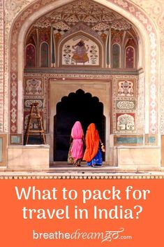 Travelling to India is different -- it helps to know what to pack, what to bring, and what to wear. This guide has you covered! A complete packing list for India, it includes travel essentials. Award Tour, India Travel Guide, International Travel Tips, Responsible Travel, Travel Drawing, Packing List For Travel, Road Trip Usa, What To Pack, Train Travel