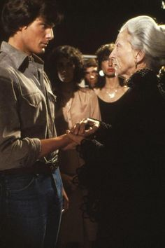 Christopher Reeves and Susan French in Somewhere in Time.