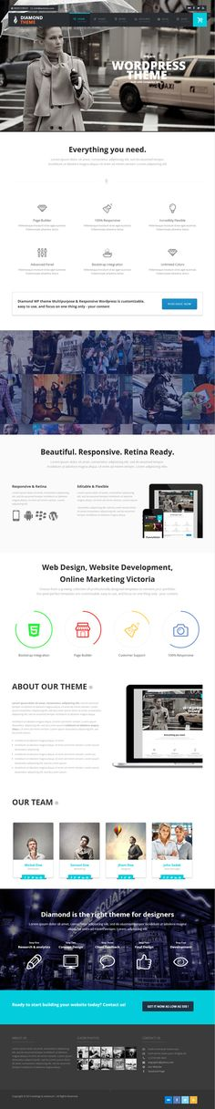 Diamond – Responsive Multi-Purpose Theme