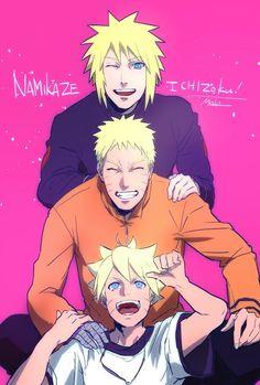 Tags: NARUTO, Uzumaki Naruto, Namikaze Minato, Uzumaki Family, Uzumaki Boruto