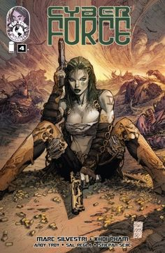 #Cyberforce (2012) #4 #TopCow #Image On Sale: 4/17/2013