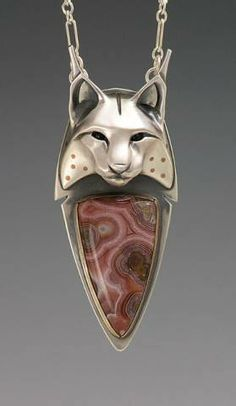 Brooke Stone jewlry | handcrafted animal totem jewelry, Lynx Jewelry,