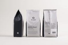 A hot cup of BAZAR coffee will definitely get your day going — The Dieline | Packaging & Branding Design & Innovation News