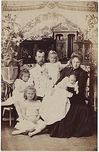 Grand Princes Alix of Hesse and by the Rhine/Tsarina Alexandra Feodorovna of Russia