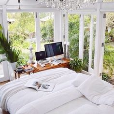 Sunroom bedroom