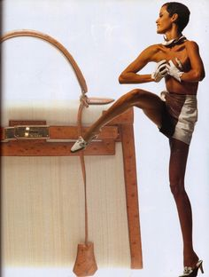 Nadege Du Bospertus | Photography by Albert Watson | For Vogue Magazine Italy | February 1992
