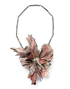Attai Chen Necklace: Untitled, 2015 Paper, paint, glue, silver 27 X 15 X 8 cm…