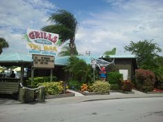 Grills Seafood & Tiki Bar In Port Canaveral, Florida