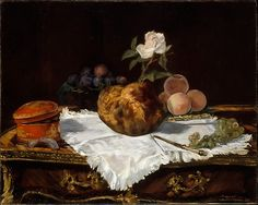 Édouard Manet (French, 1832–1883). The Brioche, 1870. The Metropolitan Museum of Art, New York. Partial and Promised Gift of an Anonymous Donor, 1991 (1991.287)