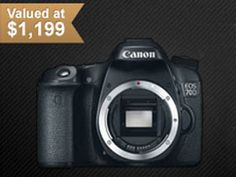 Premiumbeat.com, in partnership with creativeLIVE, are giving away a Canon 70D DSLR camera! This 20.2 megapixel DSLR captures exceptionally high quality still images and full 1080P HD video.