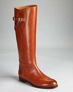Ralph Lauren Collection Riding Boots.  I want a pair, it's gorgeous!  Wear it with jeans or black skinny pants.
