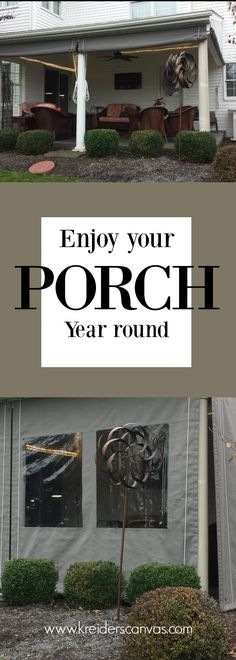 Screen porch enclosure curtains - Black Sunbrella fabric with 20 - best of letter format cc and enc