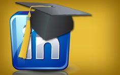 Linkedin per studenti con cappello da laureato