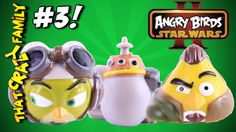 Angry Birds Star Wars 2 Rebels Heroes & Villains Telepods Ep3! | ThatCra...