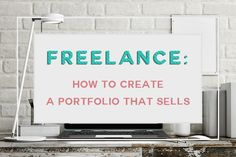How to create a portfolio that sells